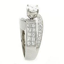 Beverly Hills Charm 18k White Gold 2 5/8ct TDW Diamond Engagement Ring (H-I, SI2-I1)