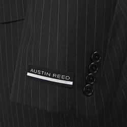 Austin Reed Men's Charcoal Grey Stripe Suit