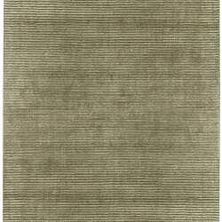 Hand-loomed Solid Beige Casual Salvador Wool Rug (8' x 11')