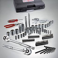 Turning Point Professional 130-piece Mechanic's Tool Set