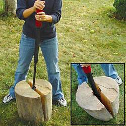 Anaconda Slide-hammer Manual Log Splitter