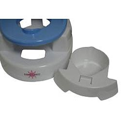 BeBeLove New Baby Blue Plastic Potty