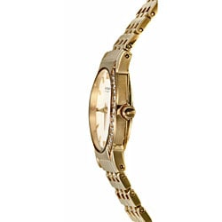Wittnauer Orpheum Women's Goldplated Steel Diamond Watch