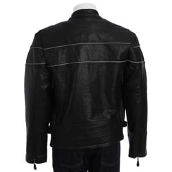 Men's Cowhide Racer Jacket