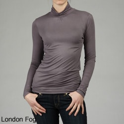 Buffalo Women's 3/4-sleeve Turtleneck