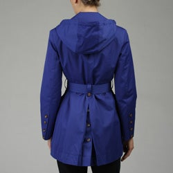 MICHAEL Michael Kors Women's Petite Single-breasted Trench Coat
