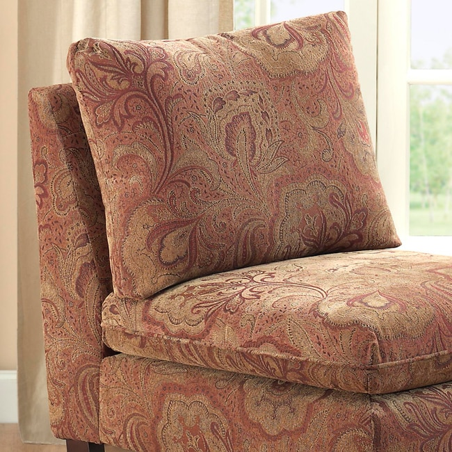 Bordeaux Nutmeg Paisley Chair 12541170 Shopping Great Deals On Living Room