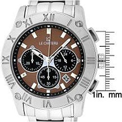 Le Chateau Cautiva Romano Men's Brown Dial Chrono Watch