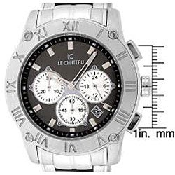 Le Chateau Cautiva Romano Men's Grey Dial Chrono Watch