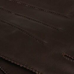 Portolano Men's Nappa Leather Cashmere-lined Gloves