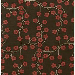 Hand-tufted Oslo New Zealand Wool Rug (8' x 11')