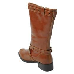 Liliana by Adi Women's Mid-heel Strappy Boots