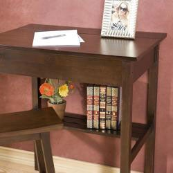 Desk with Matching Stool Study Set