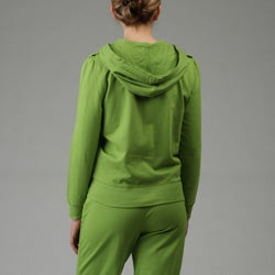 Vintage Casual Women's Jacket and Pants Set