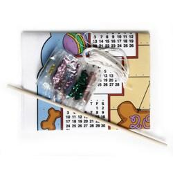 Bucilla Bless our Home/ Best Friends 2011 Felt Calendar Kits (Pack of