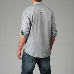 Age of Wisdom Men's Snap-Button Shirt