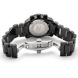 Swiss Legend Women's Commander Black Ceramic Watch