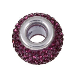 Signature Moments  Crystal February Birthstone Bead