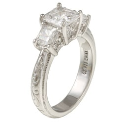 cubic zirconia tacori wedding rings