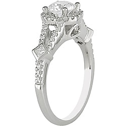 Miadora 14k White Gold 1ct TDW Diamond Engagement Ring (G-H, I1-I2)