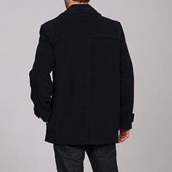 Tommy Hilfiger Men's Wool-blend Peacoat