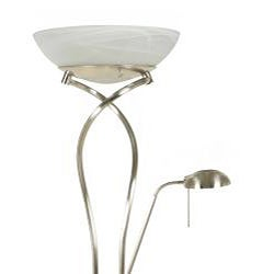 Rubic Spiral Torchiere Side Light Floor Lamp