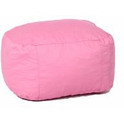 Boz FufSack Pink Twill Ottoman