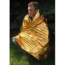 SPACE Brand Thermal Super Insulator Emergency Blanket