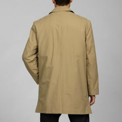 Joseph Abboud Men's 3/4-length Zip-out Liner Raincoat