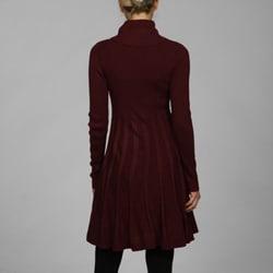 Calvin Klein Long-sleeve Cowl Neck Sweater Dress