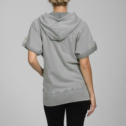 French Connection Women's Short Sleeve Hoodie - Overstock Shopping