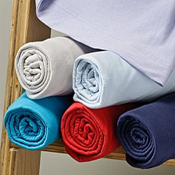 Combed Jersey Cotton Full-size Sheet Set