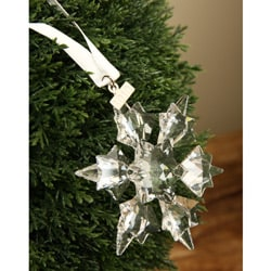 Swarovski 2010 Six-point Crystal Star Christmas Ornament