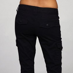 Beautiful Details About New Womens Ladies Black Wide Loose Combat Trousers Cargo