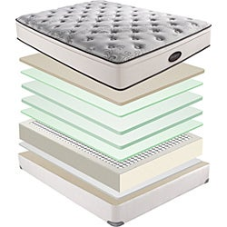 Beautyrest Classic Reece Plush Euro-top Queen-size Mattress Set