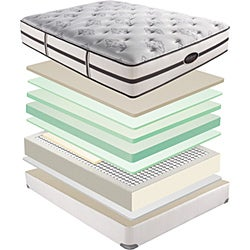 Beautyrest Classic Meyers Plush Queen-size Mattress Set