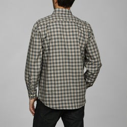 barry bricken men 39 s plaid woven shirt overstock