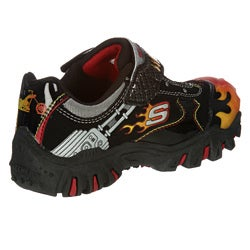 Skechers Boys 'SKX Chopper' Light-up Gore Strap Hot Light Sneakers