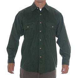 Field stream men 39 s loden flannel shirt 13077511 for Field and stream fishing shirts