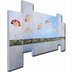 Fertile Concrete Hand-painted 5-piece Art Set