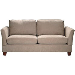 microfiber midsize small space 74 inch sofa 13101020