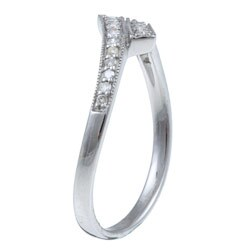 10k White Gold 1/6 TDW Diamond Ring (G-H, I1-I2)