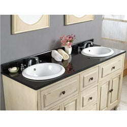 Kenneth Double-basin Granite Vanity By Ove Decors