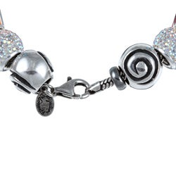 Signature Moments Sterling Silver Peace Bus Theme Bracelet