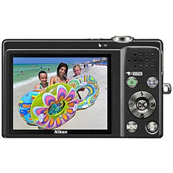 Nikon Coolpix S570 12MP Black Digital Camera with Bonus Kit (Refurbished)