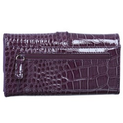 Nine West Women's Crackle Secretary Wallet