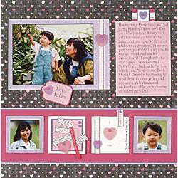 February 2006 Scrapbooking Personal Shopper Vintage Heart Set