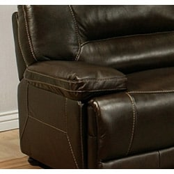 Abbyson Living Barrington Premium Top-grain Leather Recliner