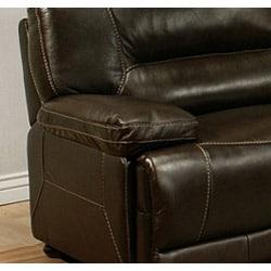 Abbyson Living Barrington Premium Top-grain Leather Recliner