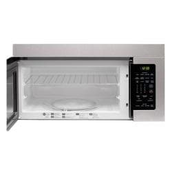 LG 1.6 Cu.Ft. 1000W Stainless Steel Over-The-Range Microwave (Refurbished)